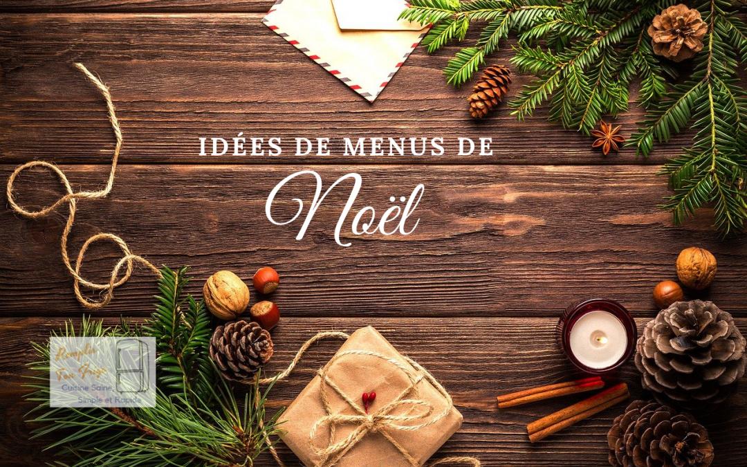 Repas de Noël faciles et rapides !  🎅🎄🎁