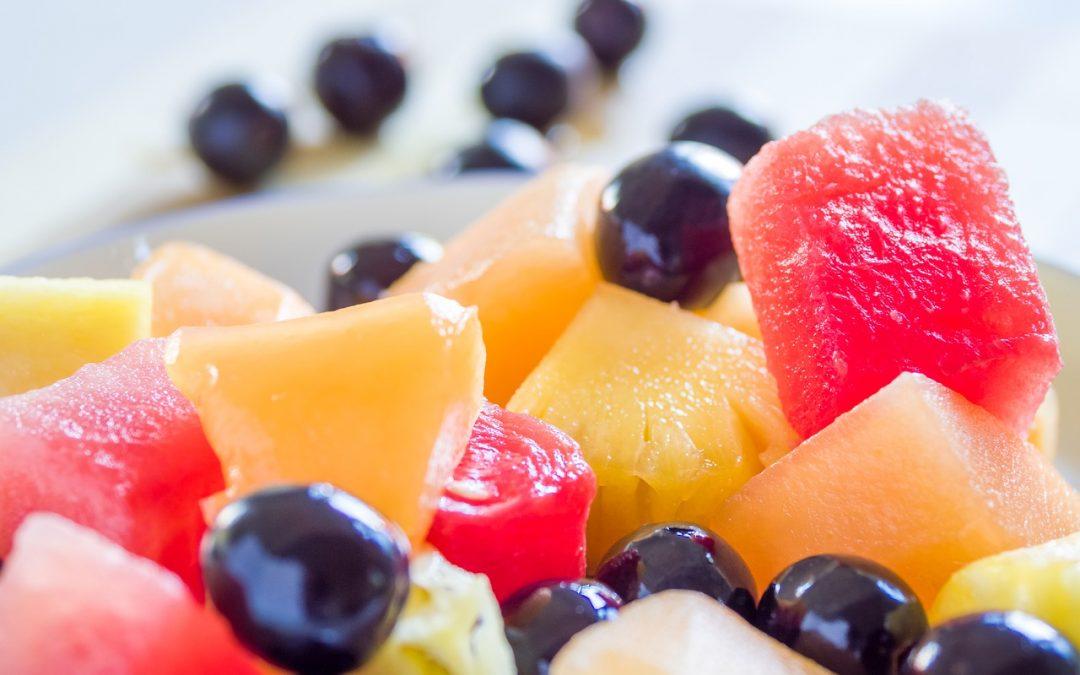 Petite salade de fruits d'été