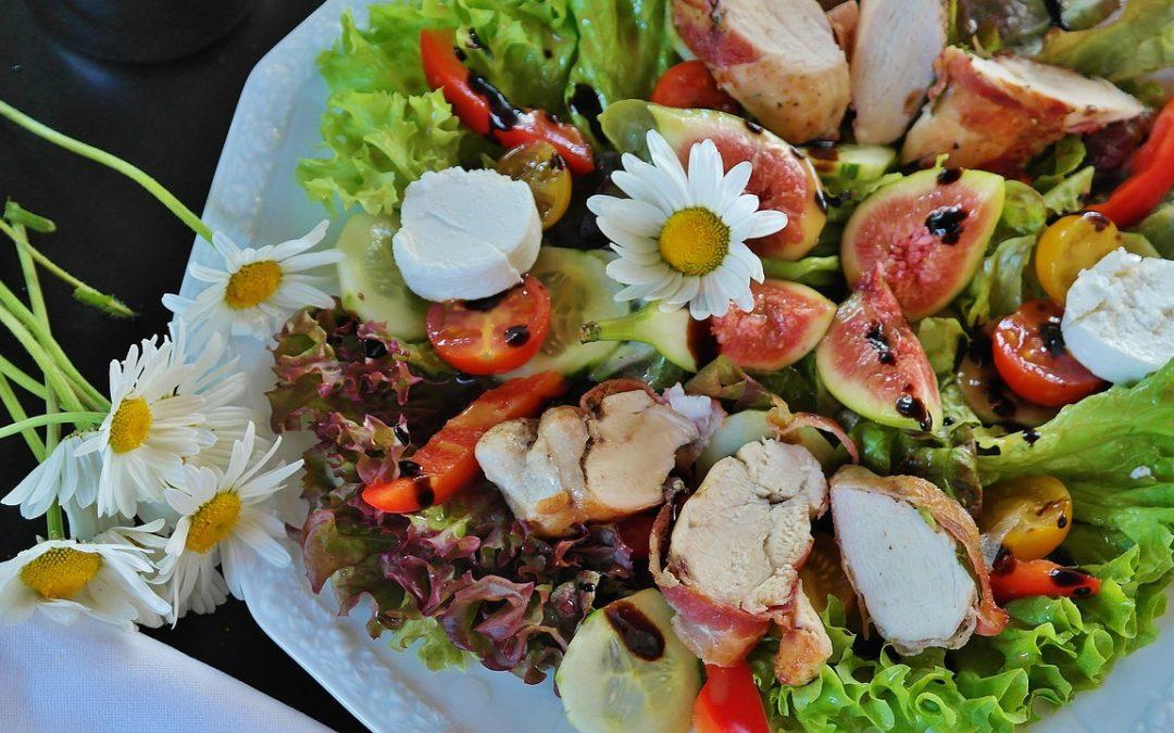 C'est l'été : vive les salades composées!